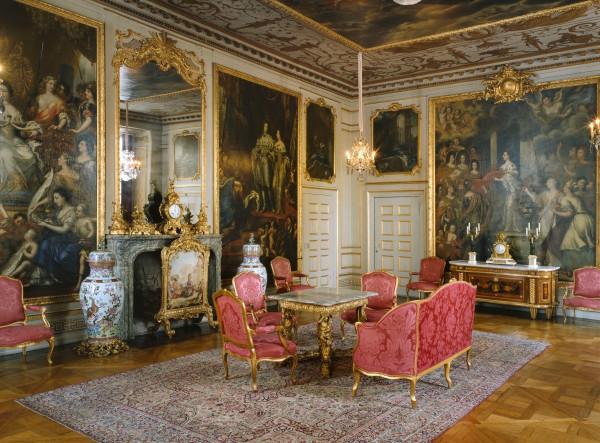 Prinsessa Leonoren ristiäiset, kastetilaisuus, Drottningholmin linna