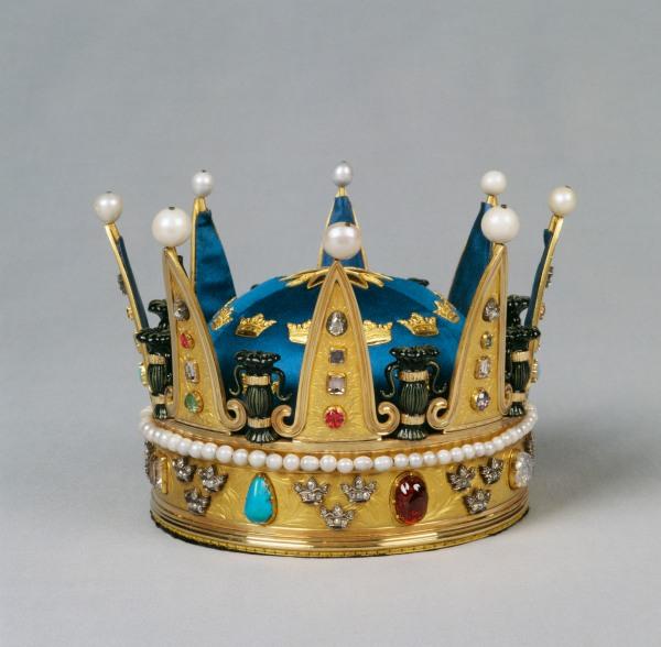 Prinsessa Eugenien kruunu prinsessa Estellen kastejuhlassa