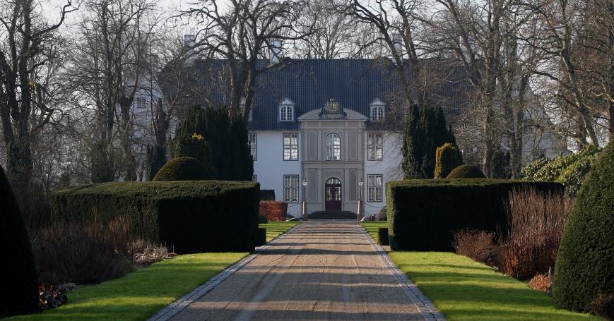 Schackenborgin linna Etelä-Jyllannissa, Tanskan prinssi Joachimin ja prinsessa Marien koti