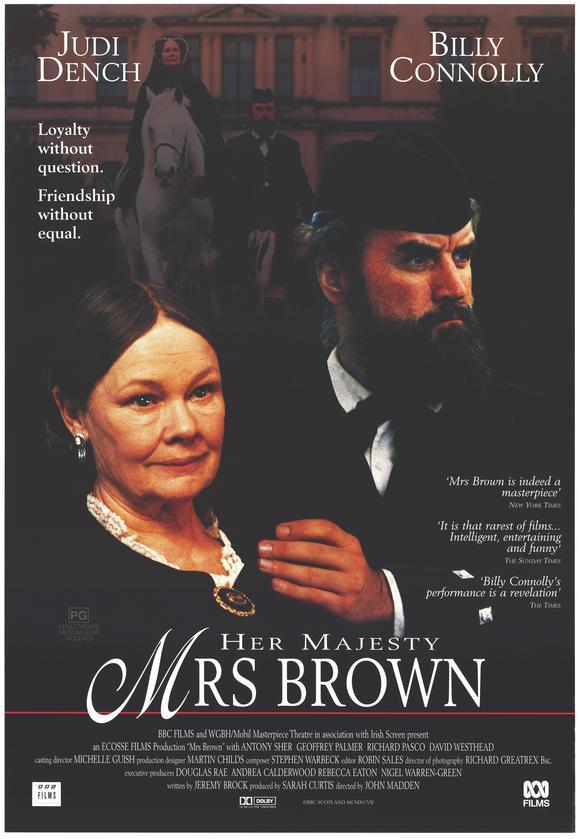 Hovikirjeenvaihtaja: elokuva englannin kuningatar Victoriasta, Hänen majesteettinsa rouva Brown