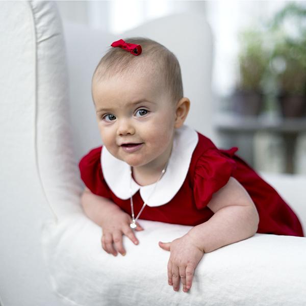 Ruotsin prinsessa Estelle jouluna