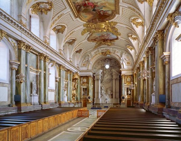 Kuninkaanlinnan kirkko Tukholma, prinssi Carl Philipin häät