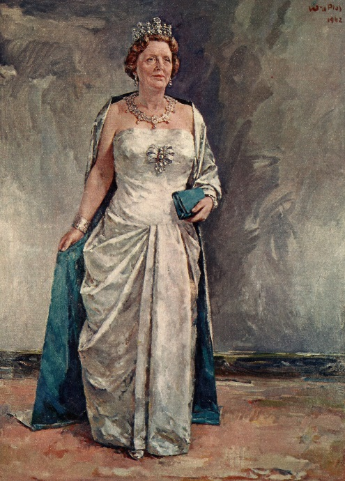 Alankomaiden Hollannin kuningatar Juliana Stuart-tiara