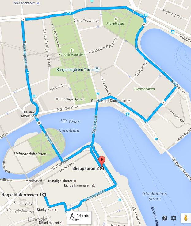 Kuninkaalliset Haat Tukholmassa Juhlapaikat