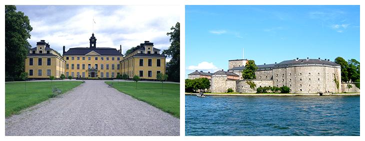 Prinssi Carl Philipin ja Sofia Hellqvistin häät, illallinen ennen häitä Ulriksdalin linnassa tai Vaxholmin linnoituksessa, Kuninkaalliset, Hovikirjeenvaihtaja