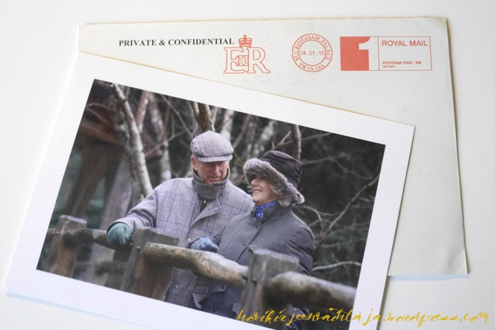 Kuninkaalliset, hovikirjeenvaihtaja, kirje kuninkaalliselle, Cornwallin herttuatar Camilla