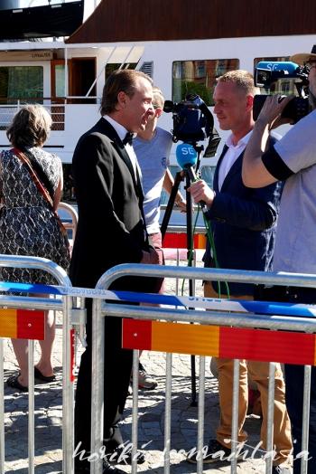 Prinssi Carl Philipin ja Sofia Hellqvistin häät, paikalla Tukholmassa, Kuninkaalliset, Hovikirjeenvaihtaja, perjantaina risteily ja illallinen, Johan T. Lindwall