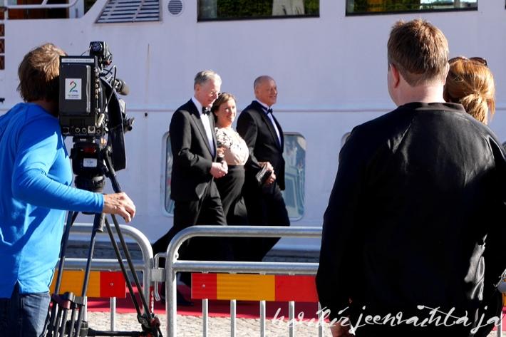 Prinssi Carl Philipin ja Sofia Hellqvistin häät, paikalla Tukholmassa, Kuninkaalliset, Hovikirjeenvaihtaja, perjantaina risteily ja illallinen, Sofian vanhemmat
