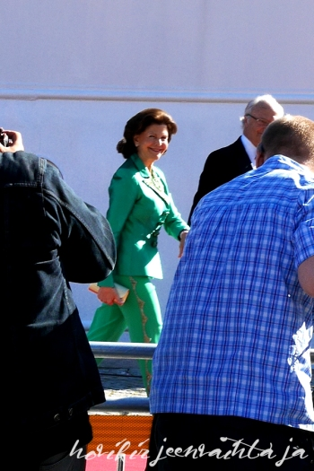 Prinssi Carl Philipin ja Sofia Hellqvistin häät, paikalla Tukholmassa, Kuninkaalliset, Hovikirjeenvaihtaja, perjantaina risteily ja illallinen, kuningatar Silvia