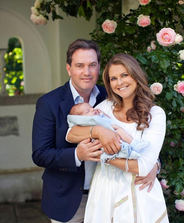 Ruotsin prinsessa Madeleine, prinssi Nicolas ja Chris O'Neill, kuninkaalliset, hovikirjeenvaihtaja