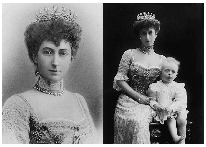 Norjan kuningasperheen tiarat, kuninkaalliset, kuningatar Maud, kuningatar Sonja, Hovikirjeenvaihtaja
