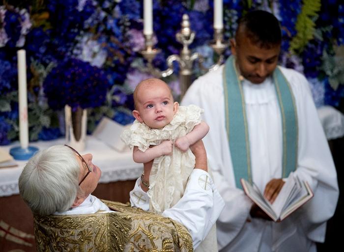 Prinssi Nicolaksen ristiäiset, kaste