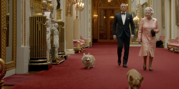 James Bond 007 Daniel Craig kuningatar Elisabet Olympialaiset 2012, kuninkaalliset, hovikirjeenvaihtaja, spectre