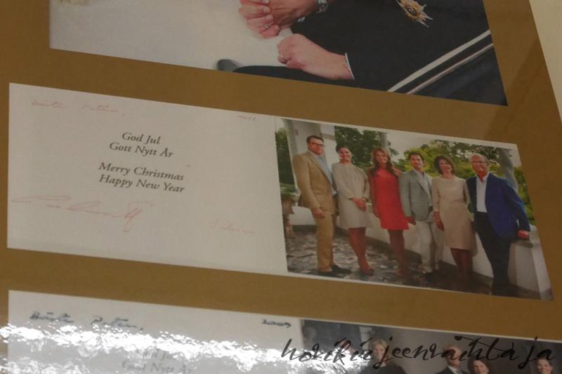 Ruotsin kuningasperheen joulukortit, kuninkaalliset, hovikirjeenvaihtaja