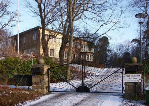 Villa Solbacken, prinssi Carl Philipin ja prinsessa Sofian tuleva koti, Tukholma, Djurgården, kuninkaalliset, Hovikirjeenvaihtaja