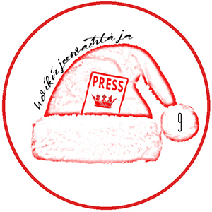 Hovikirjeenvaihtajan kuninkaallinen joulukalenteri, kuninkaalliset, joulu