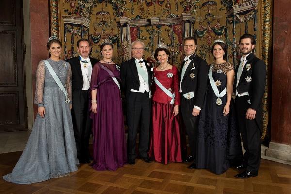 Ruotsin kuningasperhe, uusi vuosi, Hovikirjeenvaihtaja, kuninkaalliset