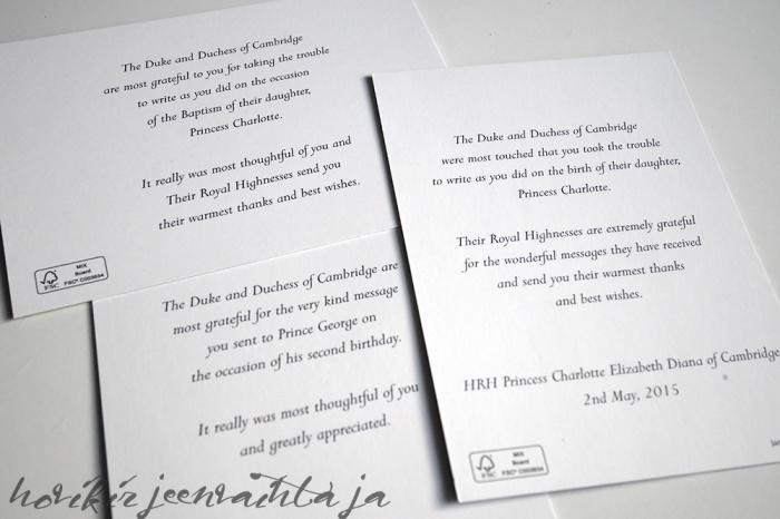 Postia kuninkaallisille, vastaus, kirje, kortti kuninkaalliselle, hoviin, Hovikirjeenvaihtaja, osoite