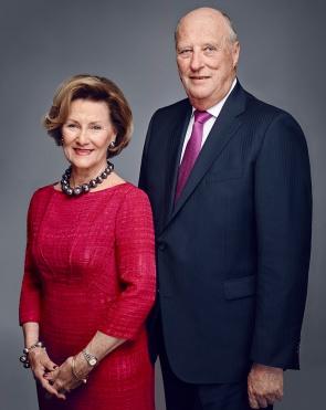 Norjan kuningatar Sonja ja kuningas Harald