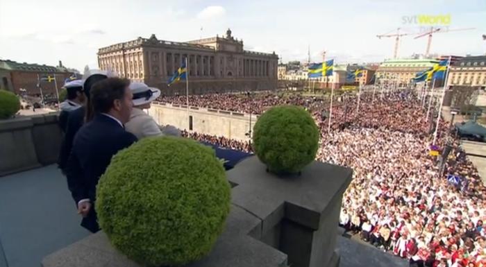 Screenshot World Direct via SVT Play
