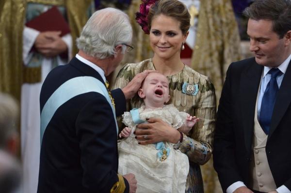 Prinssi Nicolas ristiäiset, prinsessa Madeleine