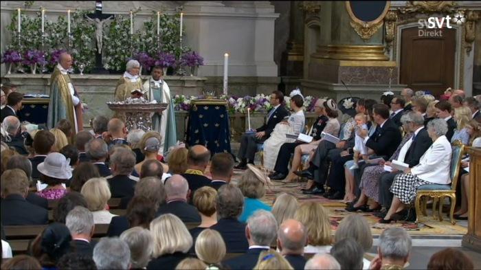 Ruotsin prinssi Oscarin kastejuhla, ristiäiset, kuninkaalliset, Hovikirjeenvaihtaja, kruununprinsessa VIctoria