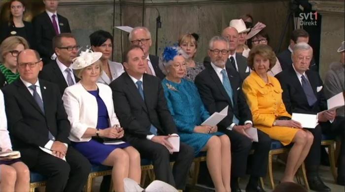 Ruotsin kuningas Kaarle Kustaan syntymäpäivä, Te Deum -jumalanpalvelus