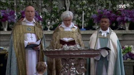 Prinssi Alexanderin kastetilaisuus ristiäiset