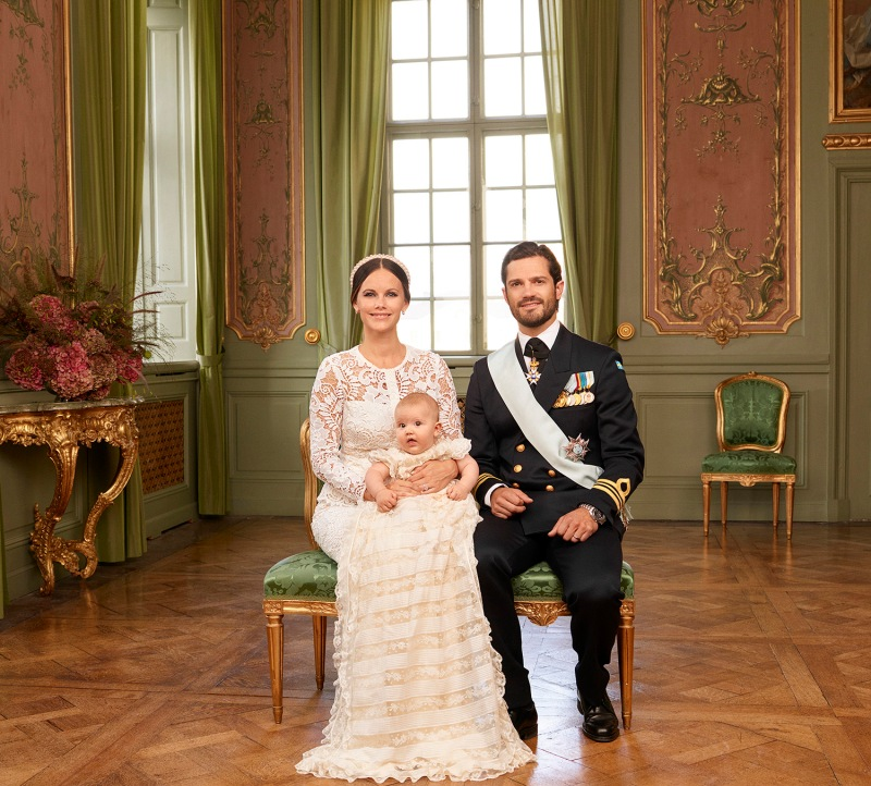 Prinssi Alexanderin kaste, ristiäiset