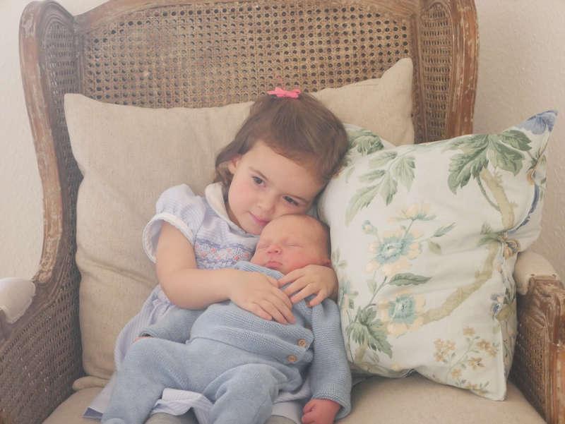 Luxemburgin prinssi Felixin ja prinsessa Clairen vauva, prinssi Liam