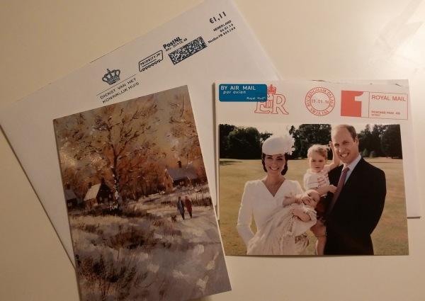 Joulukortteja kuninkaallisilta, postia kuningasperheiltä, Hovikirjeenvaihtaja