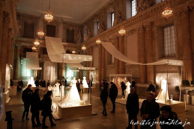kuninkaalliset hääpuvut, kuninkaallinen hääpukunäyttely, Kungliga brudklänningar, Tukholma