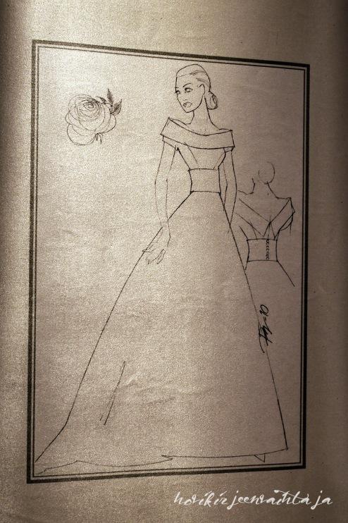Ruotsin prinsessojen hääpukujen luonnokset, kuninkaalliset hääpuvut, kuninkaallinen hääpukunäyttely, Kungliga brudklänningar, Tukholma