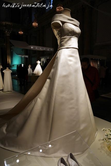 Ruotsin kruununprinsessa Victorian hääpuku, kuninkaalliset hääpuvut, kuninkaallinen hääpukunäyttely, Kungliga brudklänningar, Tukholma