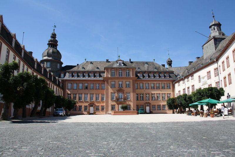 Schloss Berleburg, linna, prinssi Gustav Sayn-Wittgenstein-Berleburg, Carina Axelsson
