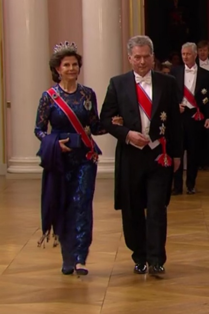 Kuningas Haraldin ja kuningatar Sonjan syntymäpäivä, kuninkaalliset vieraat