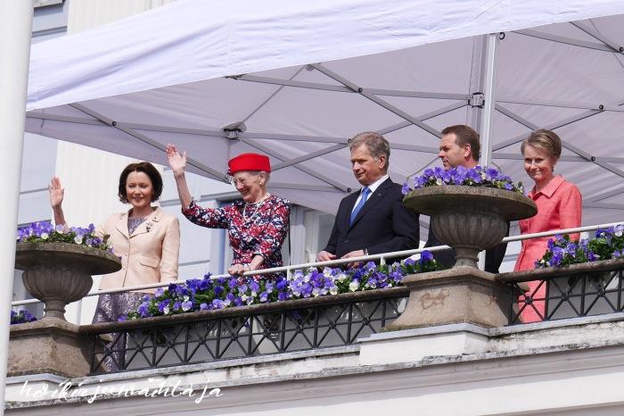Kuninkaalliset Suomessa, Suomi100, Tanskan kuningatar Margareeta
