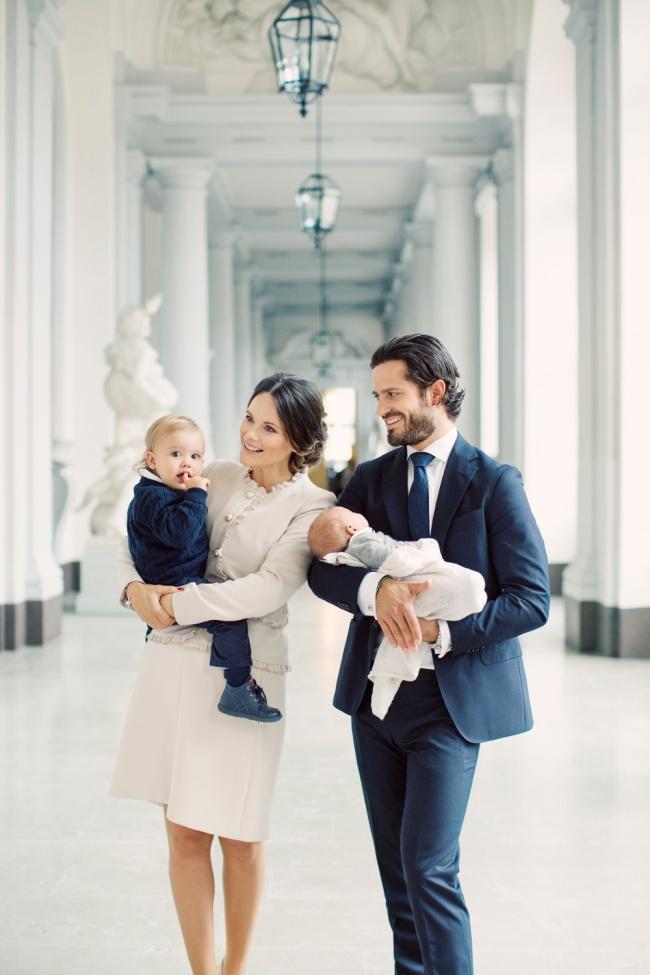 Ruotsin prinssi Carl Philip, prinsessa Sofia, prinssi Alexander, prinssi Gabriel, vauva, toinen lapsi, kuninkaalliset, hovikirjeenvaihtaja
