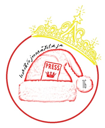 Hovikirjeenvaihtajan joulukalenteri, kuninkaallinen joulukalenteri, joulu, kuninkaalliset, kuningatar, prinsessa, jalokivet, tiara