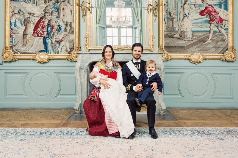 Ruotsin prinssi gabriel ristiäiset, kastejuhla, kaste, prinssi carl philip, prinsessa Sofia, prinssi Alexander