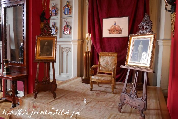 Suomen Kuningas Fredrik Kaarle I, Suomen kuningatar Margareta, kuninkaalliset, hovikirjeenvaihtaja, Suomi100