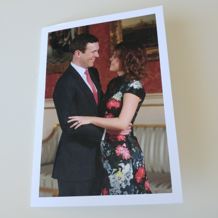Prinsessa Eugenie ja Jack Brooksbank häät, kihlaus