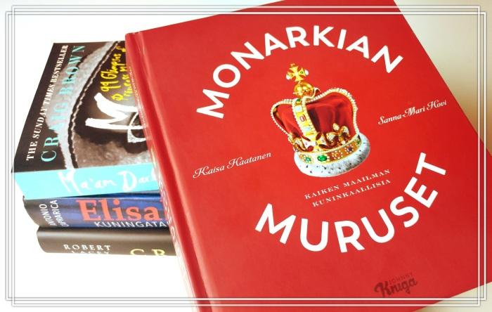 Monarkian muruset Kaiken maailman kuninkaallisia Kaisa Haatanen Sanna-Mari Hovi arvio, kirja-arvio, kuninkaalliset, Johnny Kniga, Hovikirjeenvaihtaja