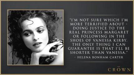 The crown kolmas tuotantokausi netflix 2019 Helena Bonham Carter prinsessa margaret