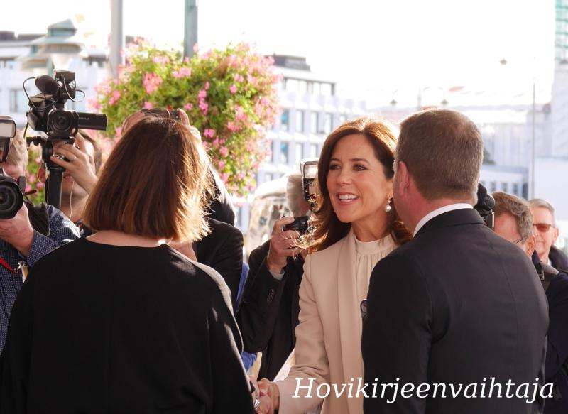 Tanskan kruununprinsessa Mary Suomessa, Helsingissä, Anni Sinnemäki, Jan Vapaavuori